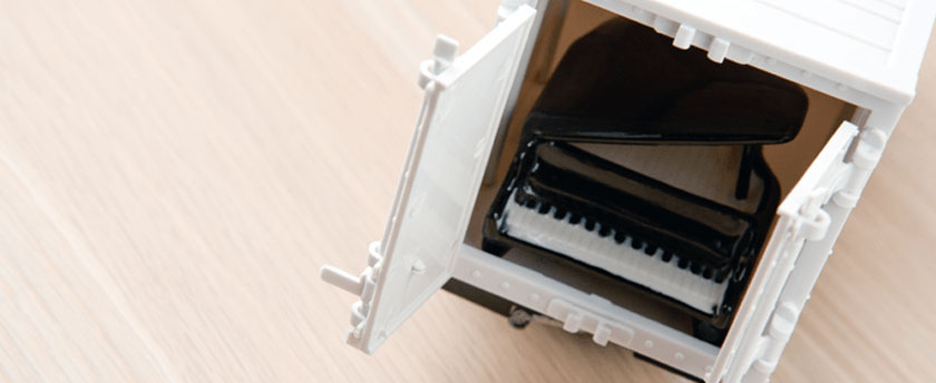 Packing-a-piano